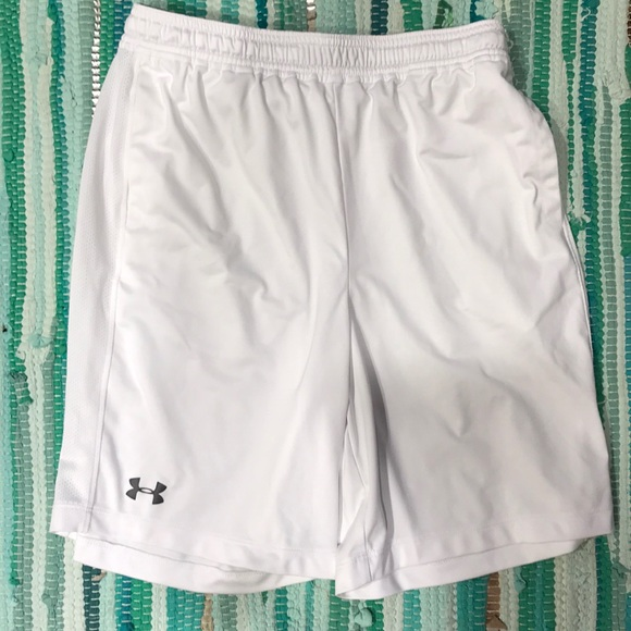 Under Armour Other - NWOT. white under armour athletic shorts. Youth XL